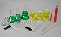 Laboratory Glassware Set 49 piece