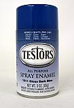 Gloss Dark Blue Spray Enamel