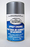 Gloss Metallic Silver Spray Enamel
