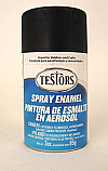 Flat Black Spray Enamel