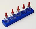 Barnes Bottle with PP Bottle Rack
