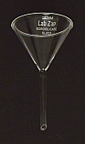 Funnel Borosilicate Glass 3 Inch, 75mm