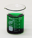 Beaker Borosilicate Glass Lab Zap 10 ml Pack of 10