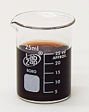 Beaker Borosilicate Glass Lab Zap 25 ml Pack of 10