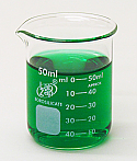 Beaker Borosilicate Glass Lab Zap 50 ml Pack of 12