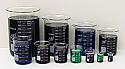 Beaker Borosilicate Glass Lab Zap Set of 11