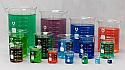 Bomex Griffin Borosilicate Glass Beaker Set of 16