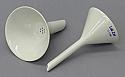 Hirsch Funnel 50mm OD Superior Quality Porcelain