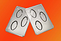 ABO/Rh Blood Typing Tray Pack of 100, Reusable