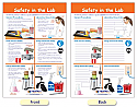 Safety in the Lab Bulletin Board Chart