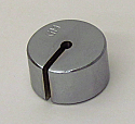 Slotted Weight Weights 100 Gram Steel Nickel Plated