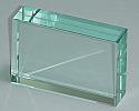 Glass Block Rectangular 75 mm x 50 mm x 18mm