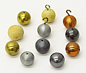 Ball Drilled - Copper 25 mm