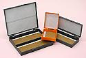 Plastic Slides Box for 50 Slides Gray