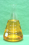 Erlenmeyer Flask Borosilicate Glass 3000 ml
