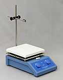 Analog Hot Plate Magnetic Stirrer 190mm Ceramic Surface