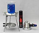 Butane Micro Burner Starter Set Deluxe
