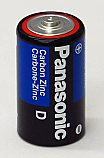 Panasonic D Cell Carbon Zinc Battery