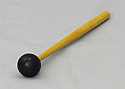 Tuning Fork Mallet Rubber Bong, Wood Handle