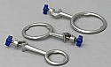 Aluminum Support Rings Set of 3 - 2 Inch, 3 Inch & 4 Inch (OD)