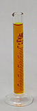 Graduated Cylinder Borosilicate Glass Round Base Lab Zap 5mL