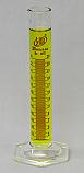 Graduated Cylinder Borosilicate Glass Hex Base Lab Zap 25mL