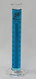 Graduated Cylinder Borosilicate Glass Hex Base Lab Zap 100mL