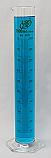 Graduated Cylinder Borosilicate Glass Hex Base Lab Zap 1000mL