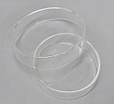 Petri Culture Dishes Borosilicate Glass Superior Quality 90mm Diameter
