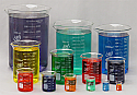Beaker Borosilicate Glass Lab Zap Complete Set of 13