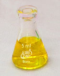 Erlenmeyer Flask Borosilicate Glass Lab Zap 5mL, Pack of 24 Pieces