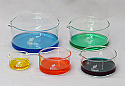 Crystallizing Dish Borosilicate Glass Set of 5