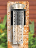 Rain Gauge with Mounting Bracket