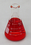 Erlenmeyer Flask Borosilicate Glass Lab Zap 100mL, Pack of 12 Pieces