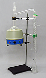 500mL Distillation Distilling Apparatus Set with Hardware & Mantle