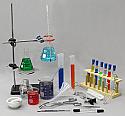Chemistry Lab Equipmet Set - Intermediate - 37 Pieces
