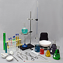 Chemistry Lab Equipmet Set - Advanced - 43 Pieces