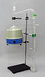 1000mL Distillation Distilling Apparatus Set with Hardware & Mantle