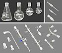 Standard Organic Chemistry Glassware Kit - 16 Piece Set