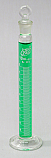 Graduated Mixing Cylinder Borosilicate Glass w/Stopper 10mL
