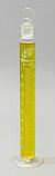 Graduated Mixing Cylinder Borosilicate Glass w/Stopper 100mL