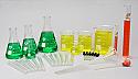 Laboratory Glassware Set 36 piece