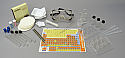 Chemistry Glassware and Equipment Kit Basic - 34pc