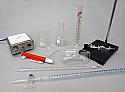 Titration Set 100 mL Glass Stopcock Buret with Magnetic Stirrer