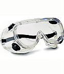 Plastic Safety Chemical Splash Goggles Indirect Vent