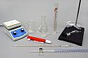 Titration Set 100 mL Glass Stopcock Buret with Hot Plate Stirrer