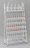 Laboratory Drying / Draining Rack 55 Pegs with Pan