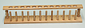Test Tube Drying Rack Wooden 12 Tubes x 22mm