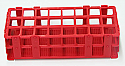 Test Tube Rack Stand Plastic for 24 Tubes, (R24)