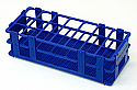 Test Tube Rack Stand Plastic for 21 Tubes, (B21)